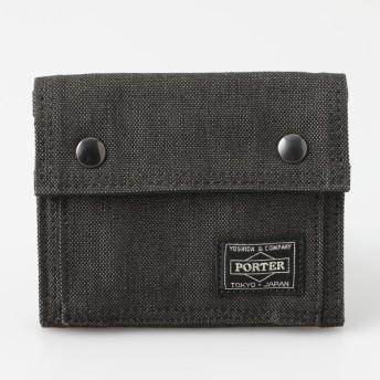 PORTER ポーター ポーター スモーキー 二つ折財布 ネイビー メンズ