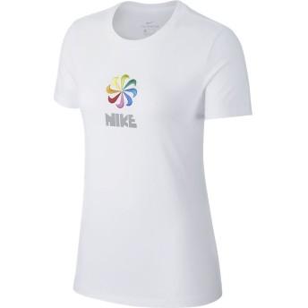 ナイキ ウィメンズ PINWHEEL Tシャツ NIKE (ナイキ) CI1124-100 WHT