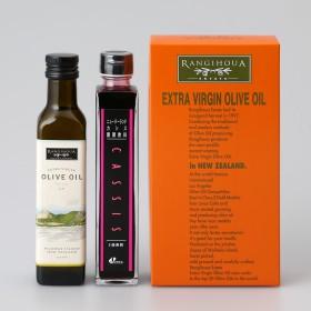 NEW ZEA+J ニュー ジー ジェー オリーブオイル&発酵カシス飲料詰合せ