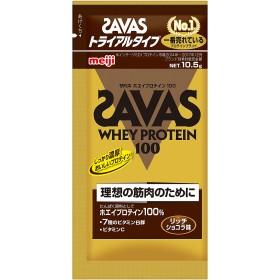 ザバス ホエイプロテイン100 リッチショコラ味 トライアルタイプ SAVAS (ザバス) CZ7430.