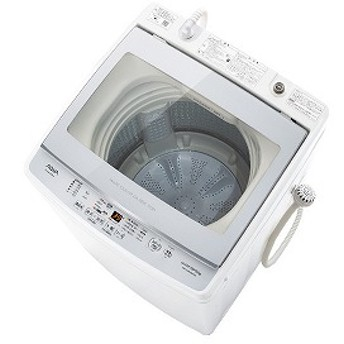 アクア AQUA 全自動洗濯機 [洗濯9.0kg/インバーターモーター搭載] 【ビックカメラグループオリジナル】 AQW-GV90HBK(FS) フロストシルバー