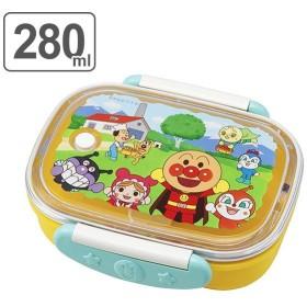 お弁当箱 1段 アンパンマン ロック式 280ml 子供 ( 弁当箱 幼稚園 保育園 食洗機対応 日本製 ランチボックス キャラクター 一段 )