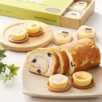 十勝トテッポ工房 北海道ナチュラルチーズケーキ&酒種ロール【結婚内祝いに】