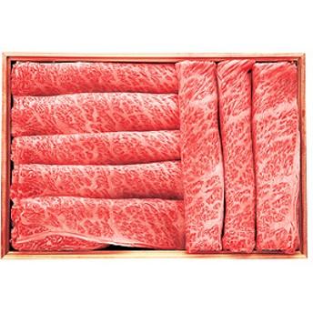 秀彩亭 黒毛和牛肩ロースすき焼き用(約720g)