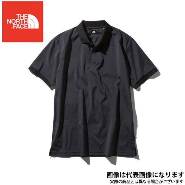 c1597c5ea8ba1 ウーブンテックポロ(メンズ) ブラック L NT11912 ノースフェイス 通販 ...