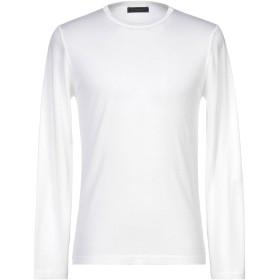《期間限定セール開催中!》DANIELE FIESOLI メンズ プルオーバー ホワイト L ウール 70% / シルク 30%