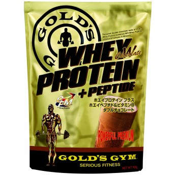 GOLD'SGYM ゴールドジム CFM ホエイプロテイン+ペプチド ダブルチョコレート 900g