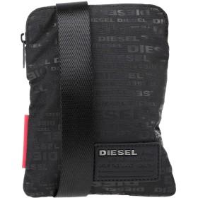 《9/20まで! 限定セール開催中》DIESEL メンズ メッセンジャーバッグ ブラック ポリエステル 100%