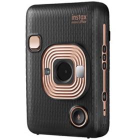 ハイブリッドインスタントカメラ 『チェキ』 instax mini LiPlay エレガントブラック