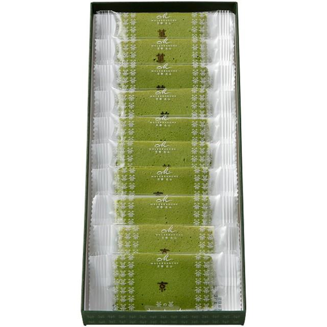 MALEBRANCHE マールブランシュ お濃茶ラングドシャ 茶の菓10枚入り【出産内祝いに】