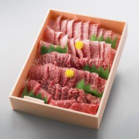 万葉 極上近江牛焼肉セット(モモ・バラ)