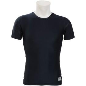 ストレッチ半袖丸首アンダーシャツ s.a.gear (エスエーギア) SA-Y19-001-014 NVY
