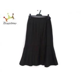 レリアン Leilian ロングスカート サイズ9 M レディース ダークブラウン   スペシャル特価 20190916