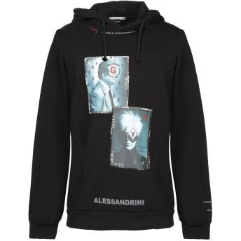 《9/20まで! 限定セール開催中》GREY DANIELE ALESSANDRINI メンズ スウェットシャツ ブラック S コットン 100%