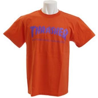 【Super Sports XEBIO & mall店:トップス】【オンライン特価】THRASHER MAG LOGO 半袖Tシャツ TH8101OG/VO