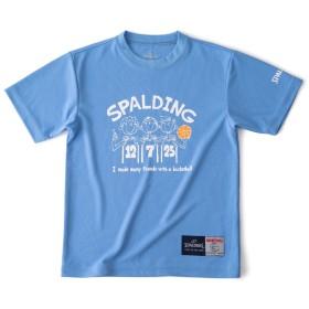 Tシャツーフレンド SPALDING (スポルディング) SJT190330 BLU