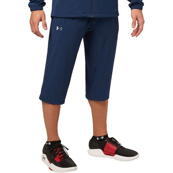 18S UA STRETCH WOVEN 3/4 PANT UNDER ARMOUR (アンダーアーマー) 1313484 1RD NVY