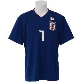 プレーヤーズTシャツ #7 L O-037 BLU