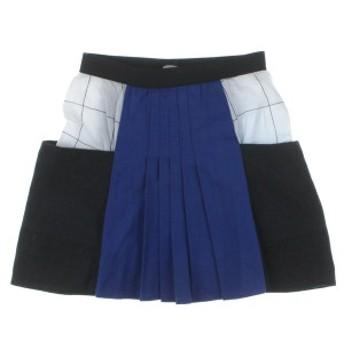 quenotte / キュノット キッズ スカート 色:青x黒x白 サイズ:10