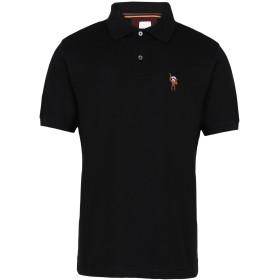 《セール開催中》PAUL SMITH メンズ ポロシャツ ブラック S コットン 100% GENTS POLO SHIRT