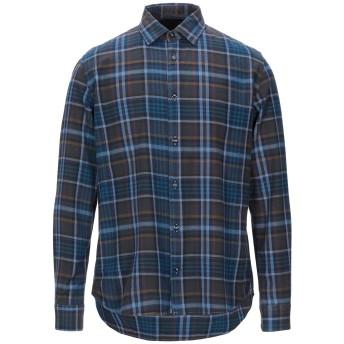 《期間限定セール開催中!》ALTEA メンズ シャツ ブルー L コットン 100%