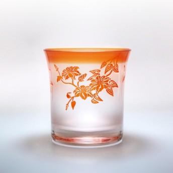 太武朗工房 彫刻夢柄子 鉄線紋 オールドグラス(PR)