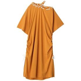 【SALE(三越)】<PAMEO POSE/パメオポーズ> Staple Jersey Dress イエロー 【三越・伊勢丹/公式】