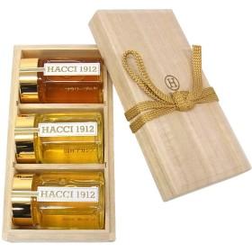 HACCI 1912 ハッチ1912 桐3本セット(国産アカシア・栃みつ・国産フラワーブーケ)【出産内祝いに】