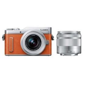 パナソニック ミラーレス一眼カメラ「LUMIX DC-GF10」ダブルズームキット(オレンジ) Panasonic DC-GF10WA-D 返品種別A