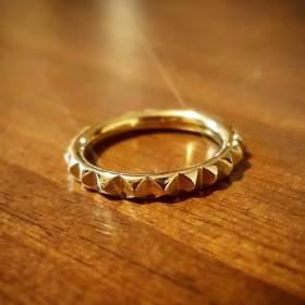 ◆受注制作◆ * studs * ring * brass *