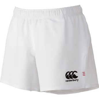 RUGBY SHORTS(LONG) canterbury (カンタベリー) RG26011 WHT