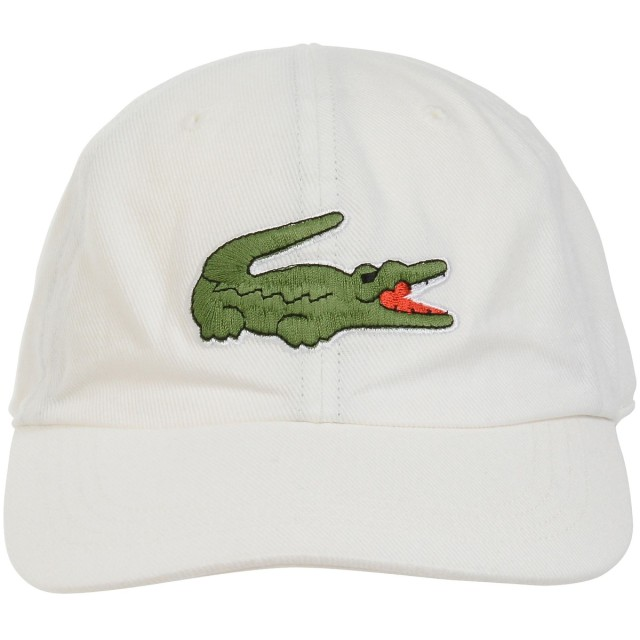 LACOSTE ラコステ クロコ刺繍6方キャップ CLM1059