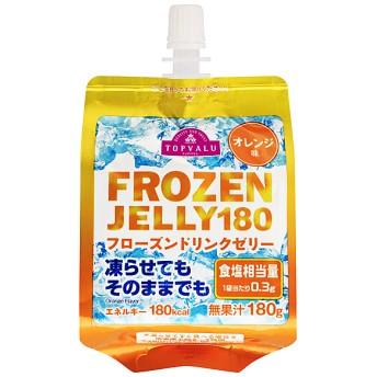 ドリンクゼリーフローズン オレンジ味 TOPVALU (トップバリュ) 4549741779555.