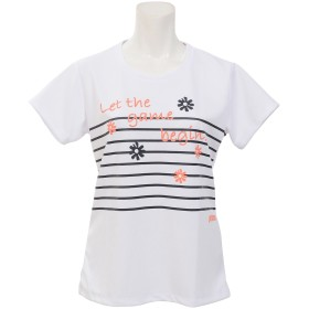 19SS LADIES T-SHIRT PRINCE (プリンス) WL9974M WHT