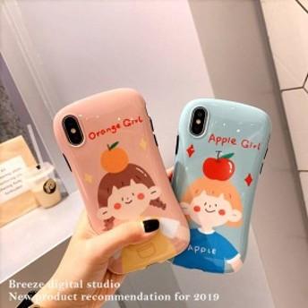 2019新作スマホケース iPhoneXs iPhoneX iPhone XR iPhoneXs MAXケース 全機種対応スマホケース可愛いカップルiPhoneケースFB44
