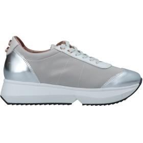 《セール開催中》ALEXANDER SMITH レディース スニーカー&テニスシューズ(ローカット) グレー 38 紡績繊維 / 革