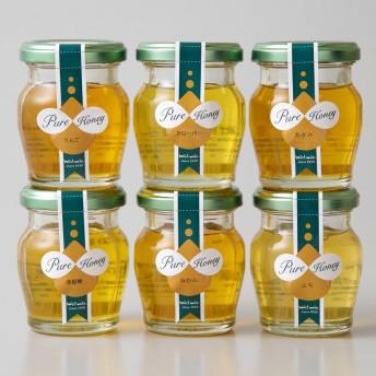 miel mie ミールミィ 国産蜂蜜食べ比べセット BN6-50【内祝い/お礼の品に】