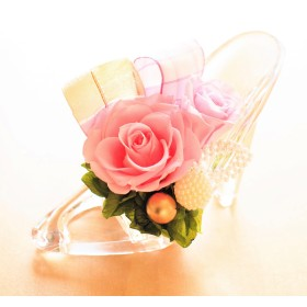 JEL FLOWER ジェルフラワー プリザーブドフラワー シンデレラ ピンク