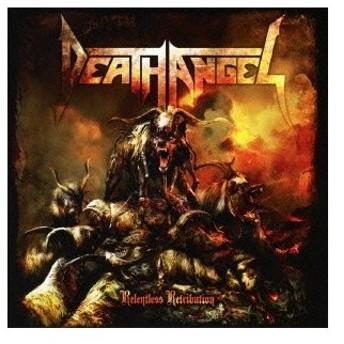 Death Angel リレントレス・レトリビューション CD