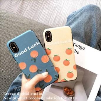 2019新作スマホケース iPhoneXs iPhoneX iPhone XR iPhoneXs MAXケース 全機種対応スマホケース可愛い果物柄カップルiPhoneケースFB67