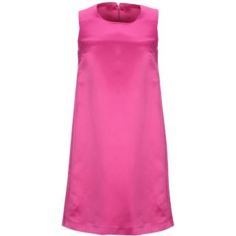 《セール開催中》LANACAPRINA レディース ミニワンピース&ドレス フューシャ 40 ポリエステル 80% / コットン 20%