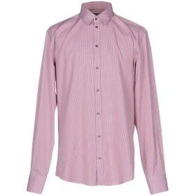 《期間限定セール開催中!》DOLCE & GABBANA メンズ シャツ レッド 39 コットン 100%