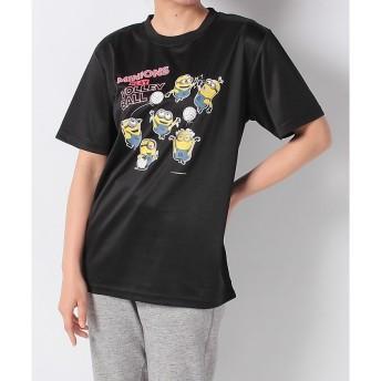 ミニオンズTシャツ s.a.gear (エスエーギア) 22833852 BLK