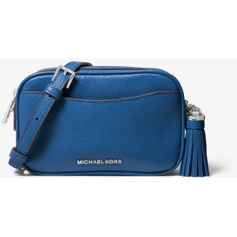 MICHAEL MICHAEL KORS レディース スモール カメラ ベルトバッグ クロスボディ グレーシアン ブルー マイケル・コース