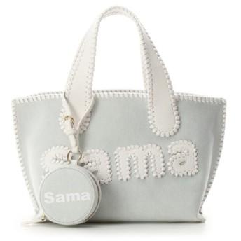サマンサタバサ サマタバトートバッグ 小(デニムVer.) レディース ホワイト FREE 【Samantha Thavasa】