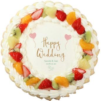 SWEETS MAKER スイーツメーカー【名入れ】ケーキ 生クリーム 結婚 S(15cm)【結婚のお祝いに】