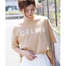 レカ ロゴTシャツ CELFIE レディース ベージュ 【半袖】FREE 【reca】