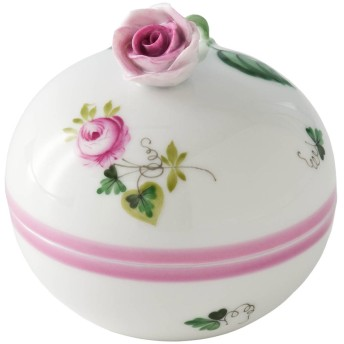 Herend ヘレンド ウィーンの薔薇・ピンク マルボンボンバラ