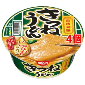 日清御膳 きつねうどん (75g4個セット)