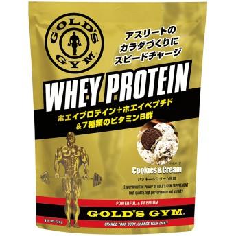 GOLD'SGYM ゴールドジム ホエイプロテイン スピードチャージ クッキー&クリーム風味 720g